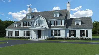Lloyd Harbor Single Family Home For Sale: 34-Lot 2 Middle Hollow Rd