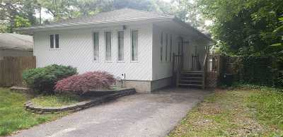 Mastic Single Family Home For Sale: 148 Shinnecock Ave