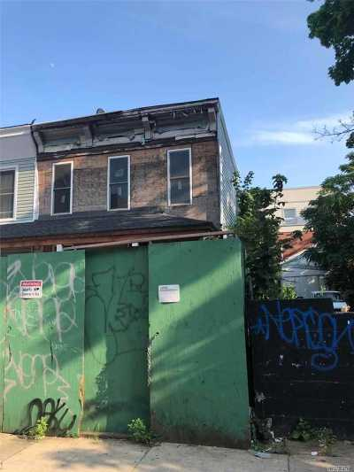 Brooklyn Residential Lots & Land For Sale: 66 Martense St