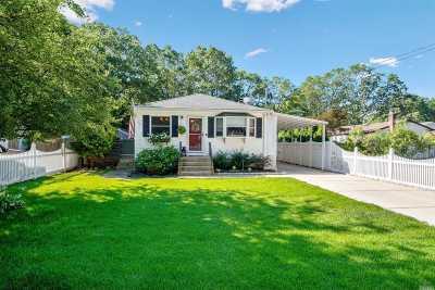 Ronkonkoma Single Family Home For Sale: 204 Springdale Dr