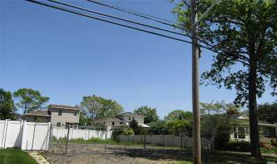 Massapequa Residential Lots & Land For Sale: 153 N Maple St