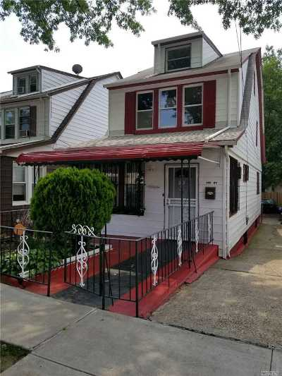 Jamaica Single Family Home For Sale: 114-16 169 St