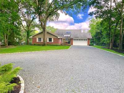 Center Moriches Single Family Home For Sale: 3 Stark Dr