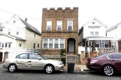 Jamaica Multi Family Home For Sale: 117-38 141st St