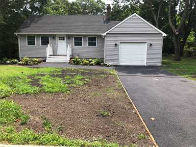 Mastic Single Family Home For Sale: 162 Somerset Ave