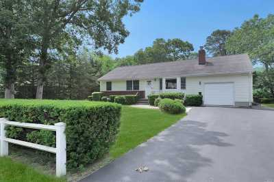 Hampton Bays Single Family Home For Sale: 42 Lynncliff Rd