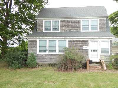 Calverton Single Family Home For Sale: 4020 Middle Country Rd