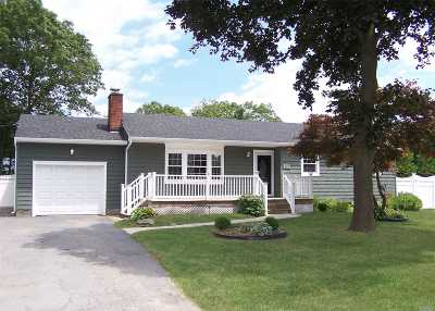Patchogue Single Family Home For Sale: 137 Mount Vernon Ave