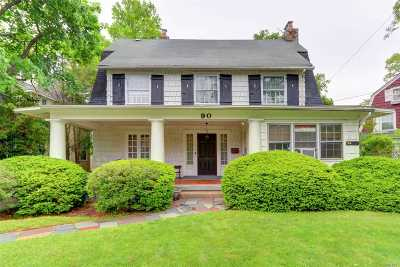 Woodmere Single Family Home For Sale: 90 Burton Ave