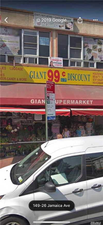 Jamaica Commercial Lease For Lease: 149-25b Jamaica Ave