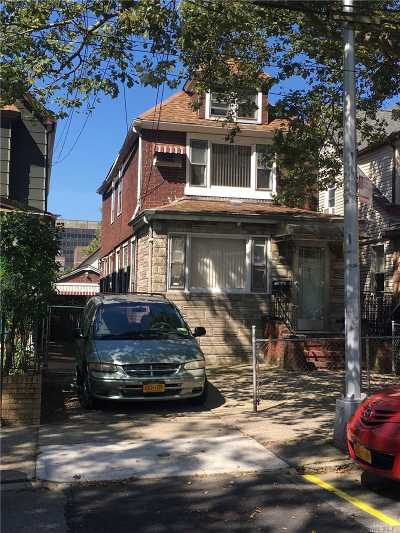Rego Park Single Family Home For Sale: 63-13 Wetherole St