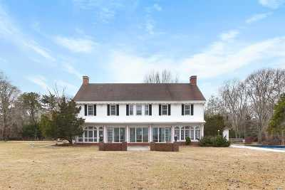 Quogue Single Family Home For Sale: 4 Fair Oaks Dr