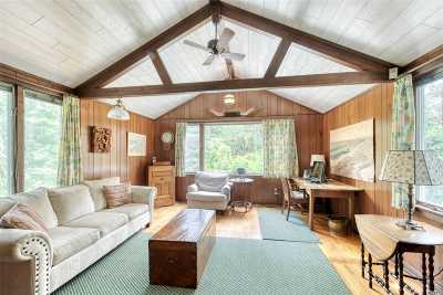 Southampton Single Family Home For Sale: 121 Bath House Rd