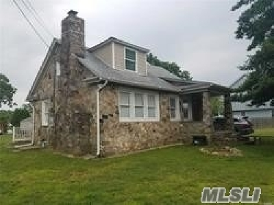 Central Islip Single Family Home For Sale: 34 Peters Blvd