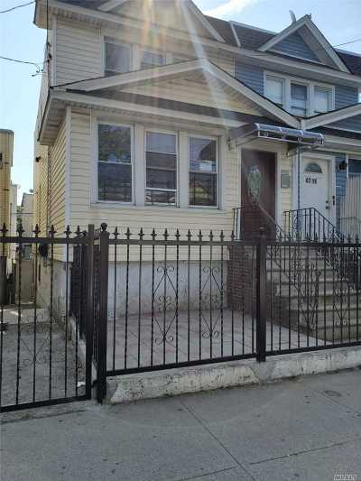 Corona Multi Family Home For Sale: 47-17 98th St