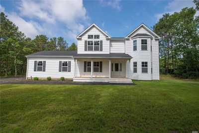 Center Moriches Single Family Home For Sale: 50c S Cozine Rd
