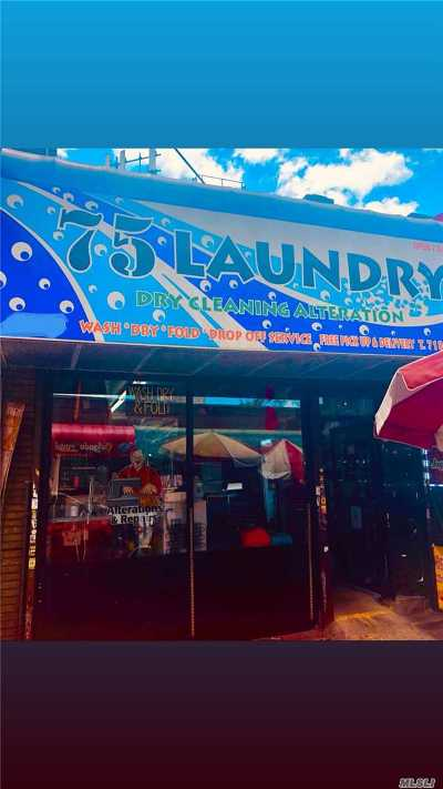 Queens County Business Opportunity For Sale: 7510 Roosevelt Avenue