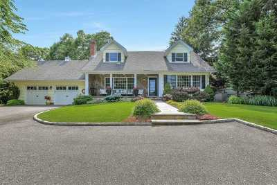 Cutchogue Single Family Home For Sale: 5270 Nassau Point Rd