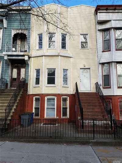 Brooklyn Multi Family Home For Sale: 729 Chauncey St