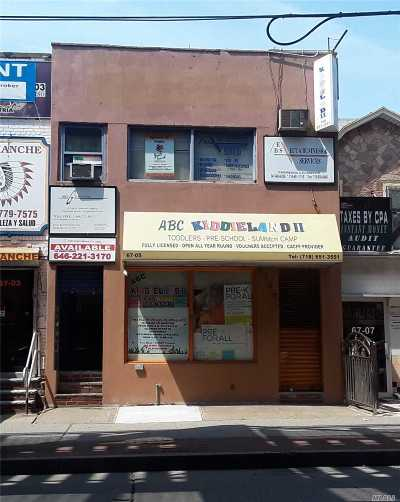 Queens County Commercial For Sale: 6705 Roosevelt Ave