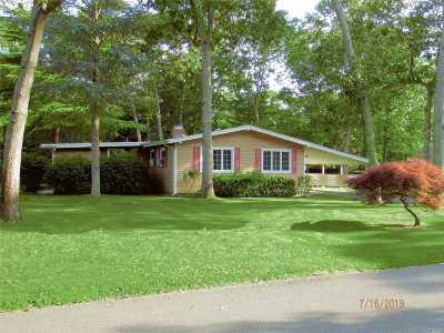 Hampton Bays Single Family Home For Sale: 9 Homewood Drive