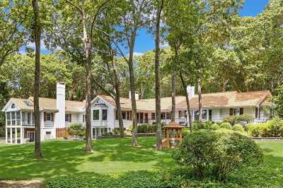 Cutchogue Single Family Home For Sale: 4680 Wunneweta Rd