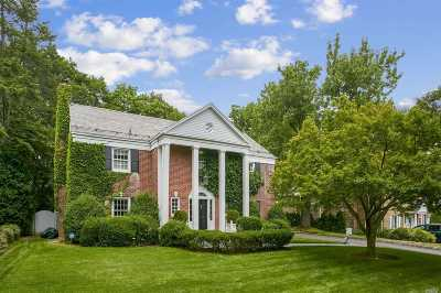 Manhasset NY Single Family Home For Sale: $1,350,000