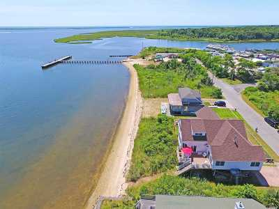 Mastic Beach Single Family Home For Sale: 23 Oceanview Dr