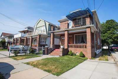Rockaway Park Multi Family Home For Sale: 212 Beach 125th St