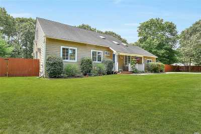 Hampton Bays Single Family Home For Sale: 121-C Springville Rd