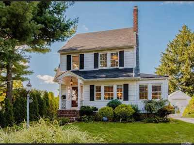 Manhasset Single Family Home For Sale: 11 Centre Dr