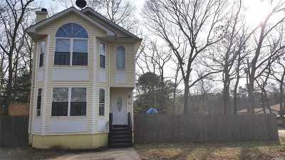 Mastic Single Family Home For Sale: 60 Carlton Ave