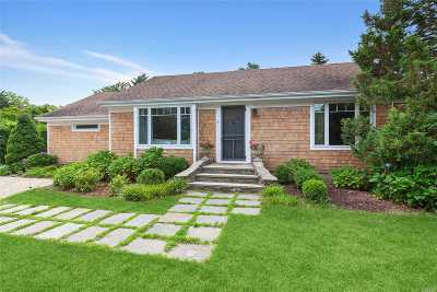 E. Quogue Single Family Home For Sale: 3 Walker Ct