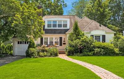 Manhasset NY Single Family Home For Sale: $1,199,000