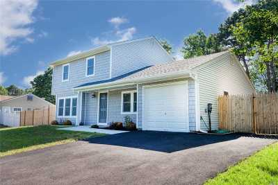 Middle Island Single Family Home For Sale: 182 Wading River Hol Rd