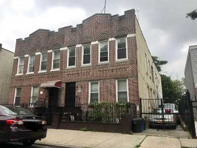 Brooklyn Multi Family Home For Sale: 515 Williams Ave
