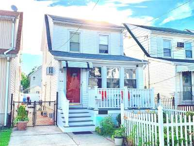Queens Village Single Family Home For Sale: 90-23 208th St