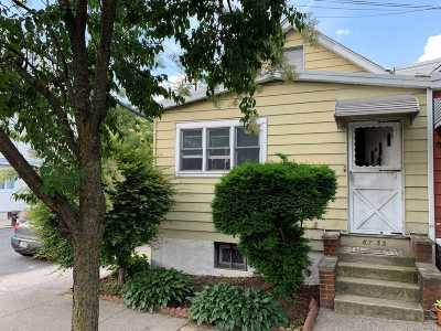 Middle Village Single Family Home For Sale: 67-53 73rd Pl