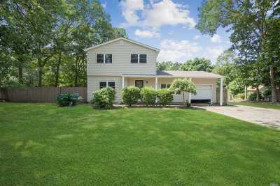 East Moriches Single Family Home For Sale: 26 Valley Dr