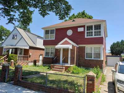 Single Family Home For Sale: 128-05 233rd St