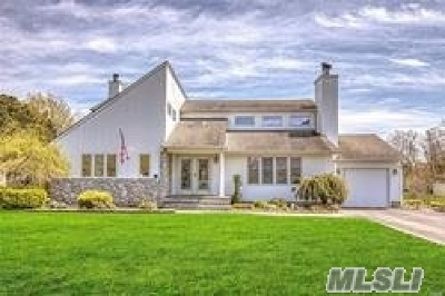 Center Moriches Single Family Home For Sale: 91 Union Ave