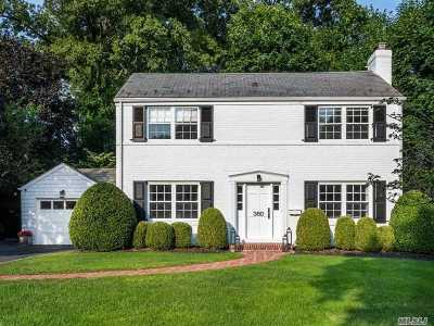 Manhasset NY Single Family Home For Sale: $1,375,000
