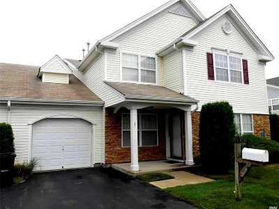 Middle Island Condo/Townhouse For Sale: 3 Martin Dr
