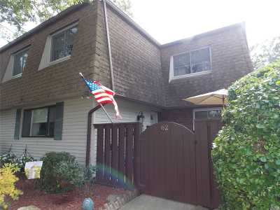 Suffolk County Condo/Townhouse For Sale: 62 Feller Dr