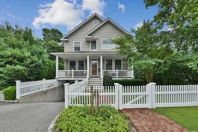 Oyster Bay Single Family Home For Sale: 60 Ivy St