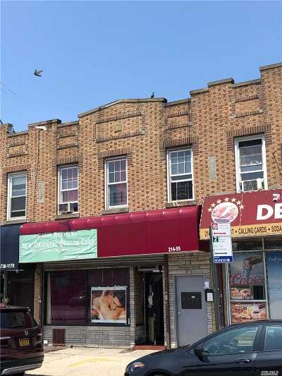 Queens Village Multi Family Home For Sale: 21455 Jamaica Ave