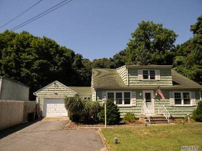 Suffolk County Single Family Home For Sale: 2111 Wading River Man Rd