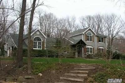 Lloyd Harbor Single Family Home For Sale: 7 Harbor Hill Dr