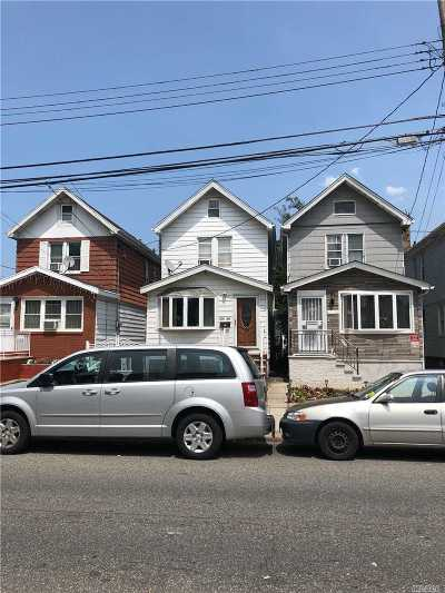 Ozone Park Single Family Home For Sale: 101-33 105th St