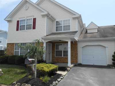 Middle Island Condo/Townhouse For Sale: 6 Sara Ln